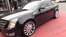 hillyard rim lions 2010 cadillac cts riding on 20 inch