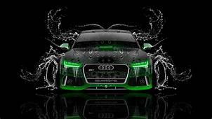 Audi RS7 Front Water Car 2014  El Tony