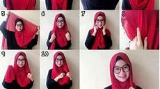 Gaya Untuk Muka Bulat Jilbab Voal