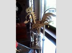 Mythical Sarimanok, brasswork from Mindanao.   Philippine