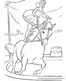 circus animal coloring pages printable performing circus