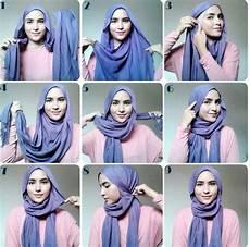 Cara Lilit Shawl Style Tutorial Simple
