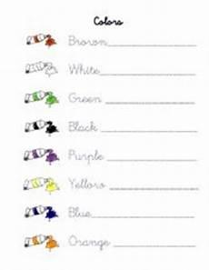 colors tracing worksheets 12820 colors tracing worksheet esl worksheet by elijose