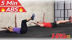 5 minute abs workout hasfit free full length workout