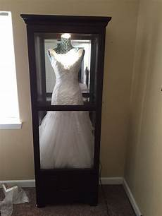 diy wedding dress display case 48 best wedding displays dress bouquets veil and other