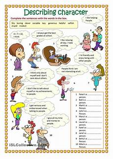 describing s personality worksheets 15903 printables student centered resources and worksheets on