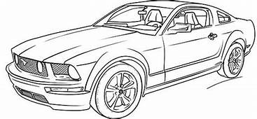 Ford Mustang Car Coloring Pages  Cars