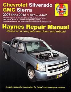 hayes car manuals 2005 chevrolet suburban 1500 electronic toll collection 2007 2013 chevy silverado repair manual haynes
