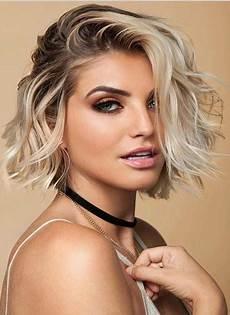 trendy short bob blonde haircuts 2018 latest fashion