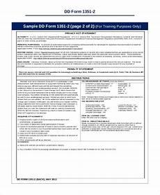 sle dd form 9 exles in pdf word