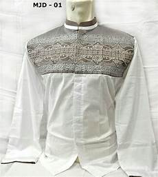 baju koko terbaru warna putih lapakonlineindonesia id