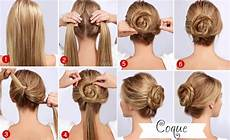 easy twisted bun hairstyle pictures photos and
