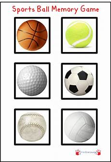 sports balls worksheets 15755 free printable sports memory print out cut out each picture and play memory