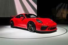 porsche 911 gt3 2017 2017 nyias 2018 porsche 911 gt3 gets 500 hp autonation