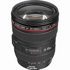 canon ef 24 105mm f 4l is usm lens 0344b002 b h photo