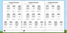 doubles worksheets doubles 20 ladybird activity sheet mixed up