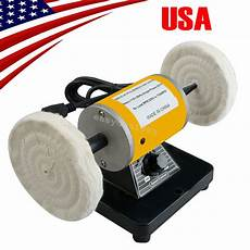 Usa Polisher Polishing Machine Dental Lab Lathe Bench