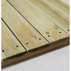 planche de terrasse en pin fsc mod 232 le primo classe iii
