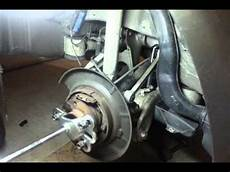 how to change your bmw e39 530i rear wheel bearing part 1