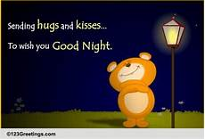 Good Night Hugs And Kisses Free Good Night Ecards Greeting Cards