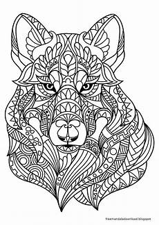 Malvorlagen Wolf Pdf Malvorlagen Wolf Mandala Zum Drucken Free Mandala