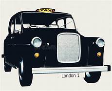 Taxi Taxi Anglais Traditionnels Photo Stock Image Du