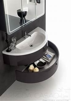 ebay arredo bagno mobile arredo bagno curvo tondo semicircolare made in