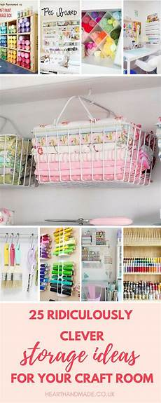 discover 17 ingenious craft room storage solutions