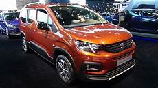 2019 Peugeot Rifter Gt Line Bluehdi 130 Exterior And