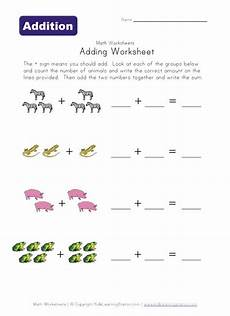 simple math addition worksheets with pictures 9646 20 best images about preschool worksheets on equation alphabet worksheets and patterns
