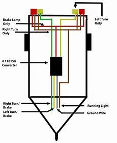 trailer brake light wiring wiring a trailer so that turn signal and brake signal are separated etrailer com