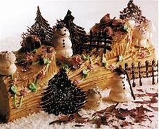 decoration buche de noel is eat dessert the culinary cellar