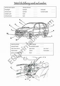 worksheets cars 18820 cars vocabulary exercise ii esl worksheet by fabiola salinas