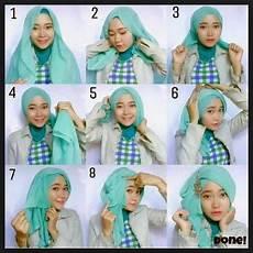 Cara Memakai Jilbab Segi Empat Simpel Modern Terbaru Trend