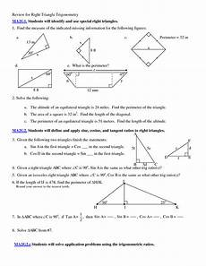 word problems trigonometry worksheets 11147 5 best images of applications of trigonometry worksheet graph trig functions worksheet right