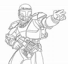 wars republic commando coloring pages
