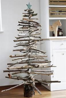 weihnachtsbaum selber bauen weihnachtliche diy idee weihnachtsbaum aus holz bauen