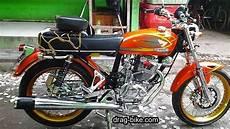Modifikasi Motor Cb 100 Mesin Tiger by 50 Foto Gambar Modifikasi Honda Cb 100 Klasik Style