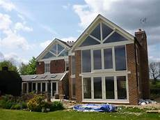 Gable Roof Window Designs by Extending House Gable End Search Home Ideas