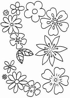 Ausmalbilder Blumenmuster Blumen Ausmalbilder 07 Blumen Ausmalbilder Malvorlagen
