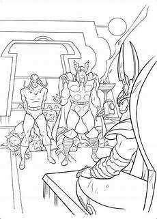 Ausmalbilder Superhelden Thor Marvel Kleurplaten N De 34 Ausmalbilder