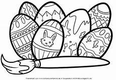 Ausmalbilder Ostereier Zum Ausdrucken Kostenlose Malvorlage Ostern Ostereier Bemalen Zum Ausmalen