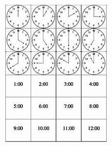 time worksheets matching digital to analog 3088 clock matching digital and analog time hour print cut