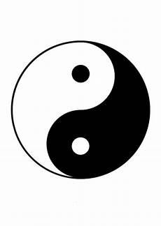 malvorlage yin yang kostenlose ausmalbilder zum ausdrucken