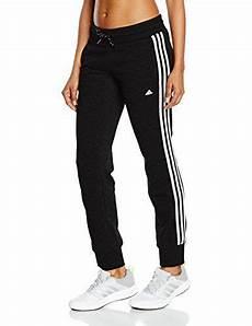 adidas damen hose essentials 3 stripes black white s