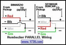 dimarzio j series parallel wiring talkbass com