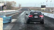 2011 audi s4 1 4 mile with giac software and awe tuning goodies 12 14et youtube