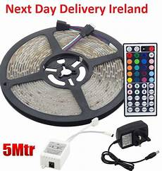 led stripe 5m 5m 5050 rgb led strip lights 44 key kitchen remote