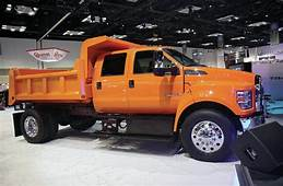 2016 Ford F 650 And 750 Commercial Truck First Look