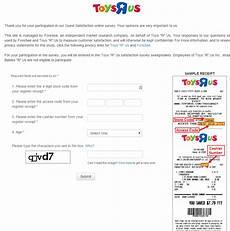 toys r us survey toysrus com survey customer